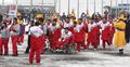 パラ北朝鮮選手団が入村式