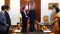 Président parlementaire et président indien