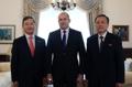 Embajadores de las dos Coreas