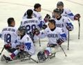 'Hockey' sobre hielo paralímpico
