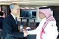 Ministre du Commerce et ministre saoudien de l'Economie