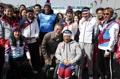 الرئيس مون يشجع الرياضيين الجنوبيين المشاركين في أولمبياد بيونغ تشانغ للمعاقين