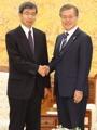 ADBの中尾総裁と会談