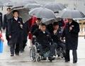 Délégation nord-coréenne