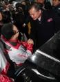 La delegación paralímpica norcoreana regresa a casa