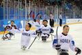 El equipo surcoreano de 'hockey'
