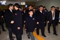 平昌残奥朝鲜代表团离韩