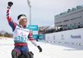 韩越野滑雪选手申义贤摘金