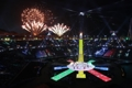 ألعاب نارية للحفل الختامي لاولمبياد بيونغ تشانغ للمعاقيين