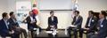 Avec des entrepreneurs coréens en Argentine
