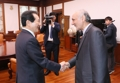 Avec l'ambassadeur irakien