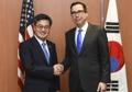 Avec le secrétaire du Trésor américain