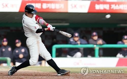 나주환 7타점 '원맨쇼'…SK, 롯데에 완승