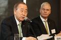 Conférence de presse de Ban Ki-moon