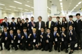 Groupe de démonstration de taekwondo