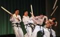 Taekwondoïstes nord-coréens