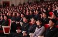Spectateurs nord-coréens