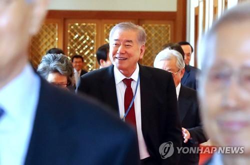 """문정인 """"북핵 포기하면 남북 유엔 평화선언도 가능"""""""