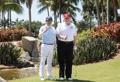 트럼프-아베, 마라라고서 또 '골프 회동'…세번째 라운딩(종합)