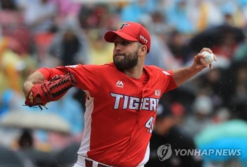 '팻딘 7이닝 1실점' KIA, 두산 마운드 초토화하며 5연승 저지