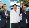 ソウル市長選の各党候補 精力的に