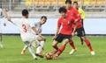 التعادل الإيجابي بين المنتخب الكوري الجنوبي ونظيره الفيتنامي