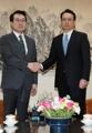 المبعوثان النوويان الكوري الجنوبي والياباني في سيئول