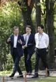 Moon ahead of inter-Korean summit