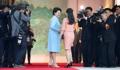 韩朝第一夫人首会