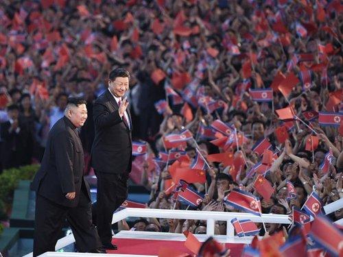 تلفزيون الصين المركزي : الرئيس الصيني يغادر كوريا الشمالية بعد انتهاء زيارته لها