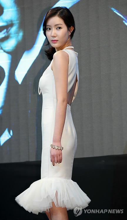 资料图片: 韩国女演员林秀香(韩联社)