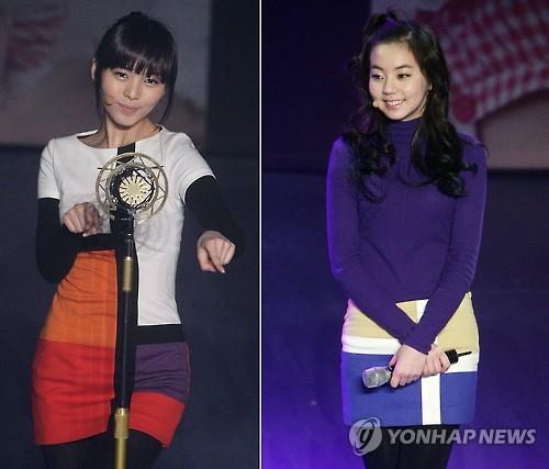 女团Wonder Girls所属经纪公司JYP娱乐20日表示,Wonder Girls成员先艺(左)和昭熙决定退团。(韩联社)