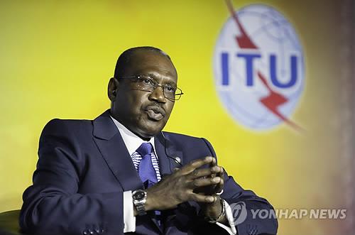 Le secrétaire général de l'Union internationale des télécommunications (UIT), Hamadoun Touré