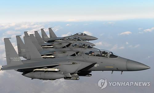 Les chasseurs F-15K