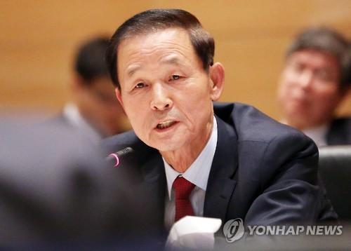 L`ambassadeur de Corée du Sud en Chine Kim Jang-soo (Photo d`archives Yonhap)