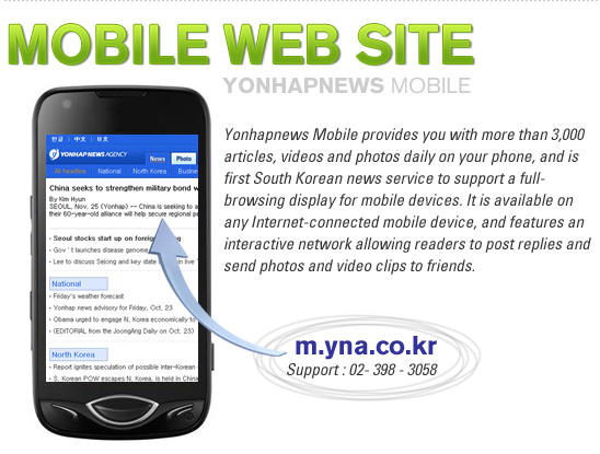 Mobile Web Site