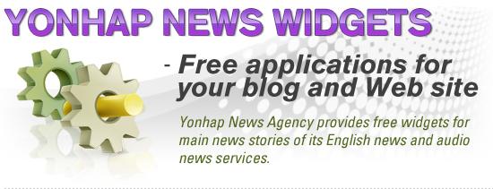 Yonhap News Widgets