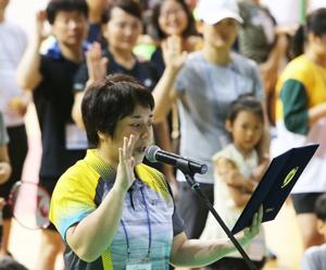 '오늘은 다문화인의 날' 배드민턴대회장은 온통 '축제 분위기'