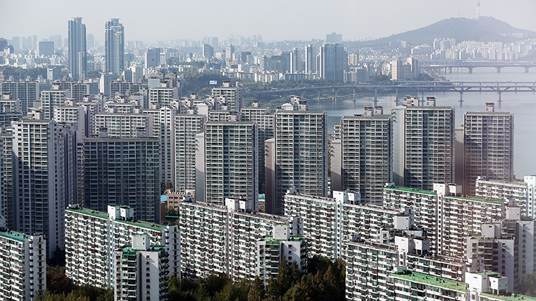 서울 강남구 일대 아파트.