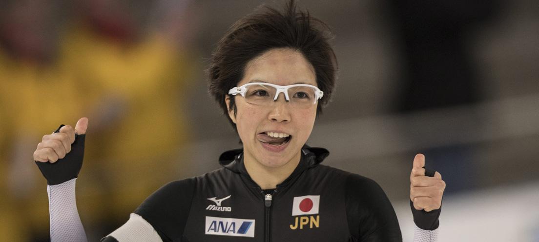 일본 여자 스피드스케이팅 단거리 간판 고다이라 나오.