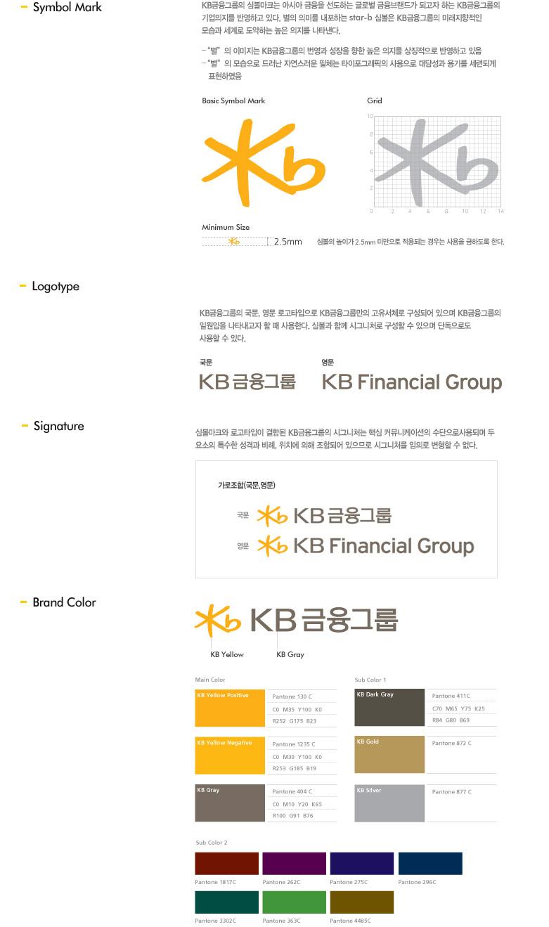 KB금융그룹 기업CI