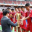 4 .25체육단, 평양 유소년 국제축구대회 우승