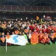 北 조선중앙통신, 남북노동자통일축구대회 소식 보도