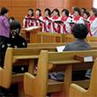 평양 봉수교회서 남북 종교인 합동 예배