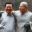어깨 동무한 남북 종교인