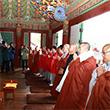 금강산 신계사에서 평화통일 기원 법회 개최