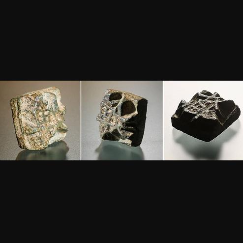개성 만월대서 출토된 금속활자