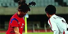 윤덕여호, 올림픽 최종예선 북한전 1-1 무승부