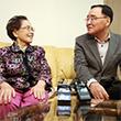 이산가족 가정 방문한 정홍원 총리