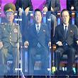 <아시안게임> 폐회식 지켜보는 북한 권력 핵심들